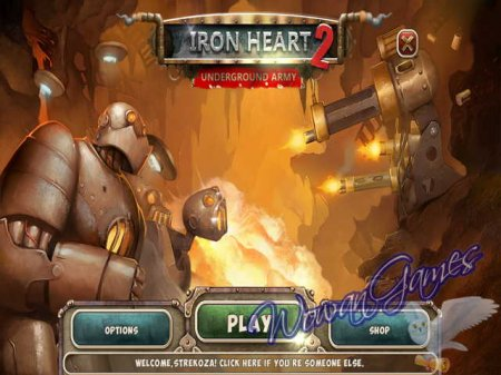 Iron Heart 2. Underground Army