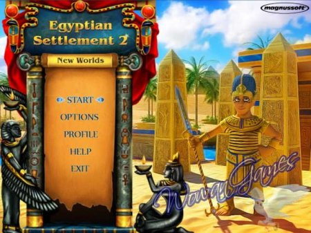 Egyptian Settlement 2. New Worlds