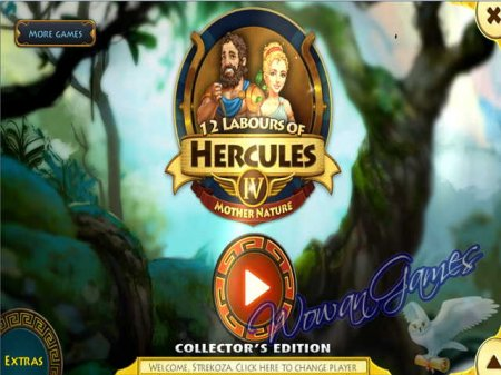 12 Labours of Hercules 4. Mother Nature Collectors Edition