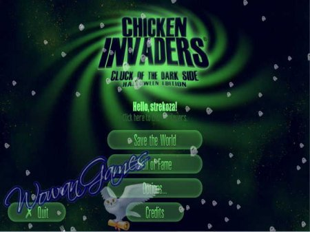 Chicken Invaders 5 Cluck of the Dark Side Halloween Edition