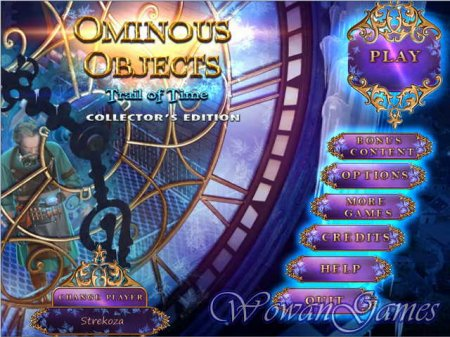 Ominous Objects 3. Trail of Time Collectors Edition