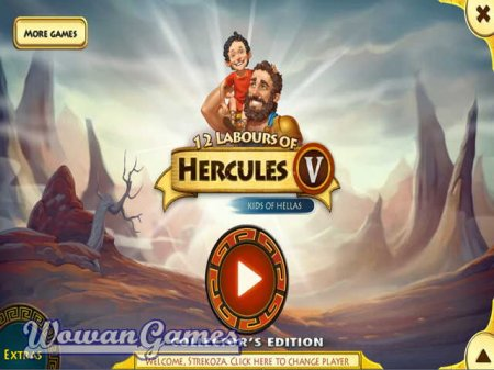 12 Labours of Hercules V. Kids of Hellas Collectors Edition