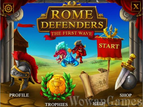 Rome Defenders. The First Wave