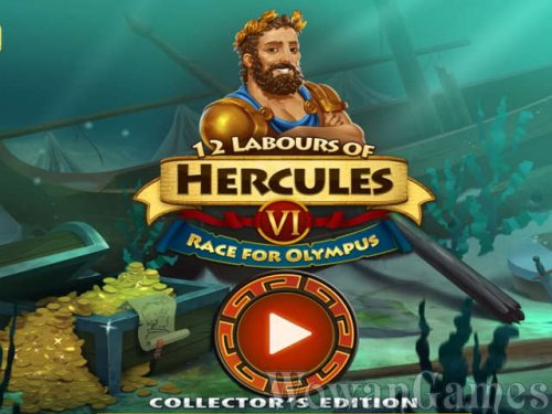 12 Labours of Hercules 6. Race for Olympus Collectors Edition