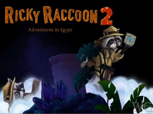 Ricky Raccoon 2. Adventures in Egypt