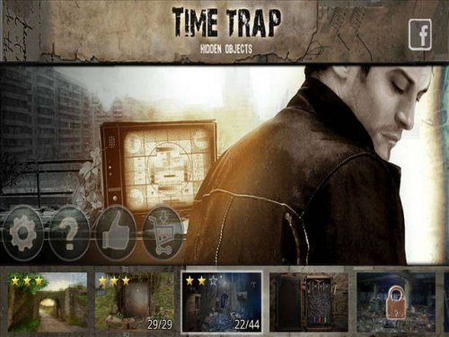 Time Trap. Hidden Objects