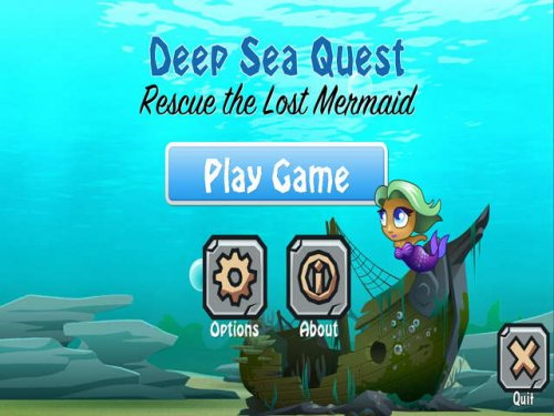Deep Sea Quest. Rescue the Lost Mermaid
