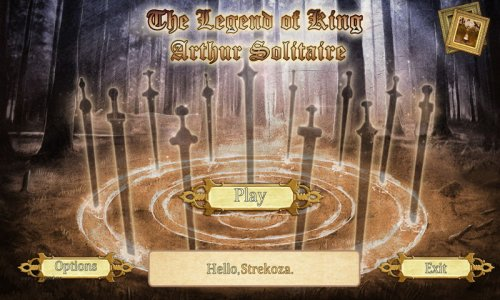 The Legend Of King Arthur Solitaire