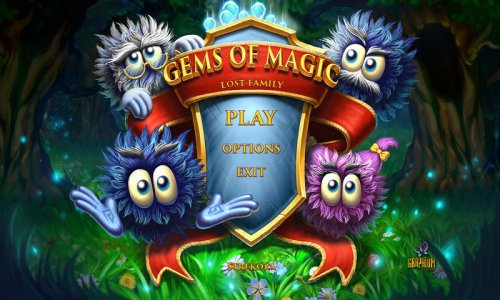 Gem's of Magic: Lost Family RUS