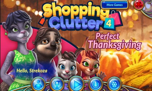 Shopping Clutter 4: A Perfect Thanksgiving (русский (multi))
