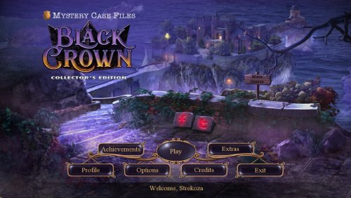 Mystery Case Files 20: Black Crown Collectors Edition
