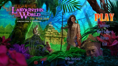Labyrinths of the World 11: The Wild Side Collectors Edition