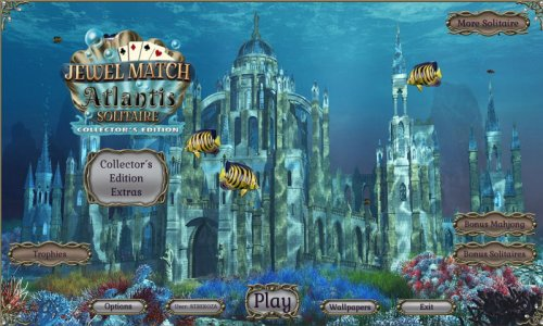 Jewel Match Atlantis Solitaire Collectors Edition