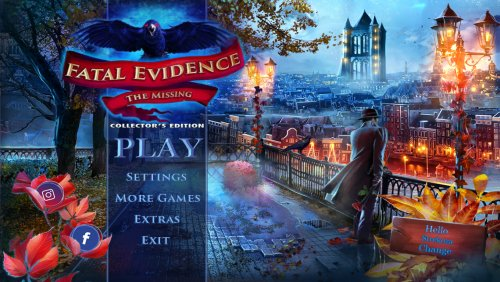 Fatal Evidence 2: The Missing Collectors Edition