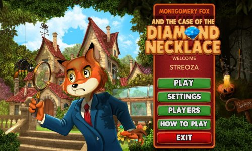 Montgomery Fox and the Case of the Diamond Necklace