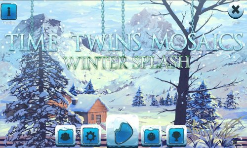 Time Twins Mosaics 4: Winter Splash